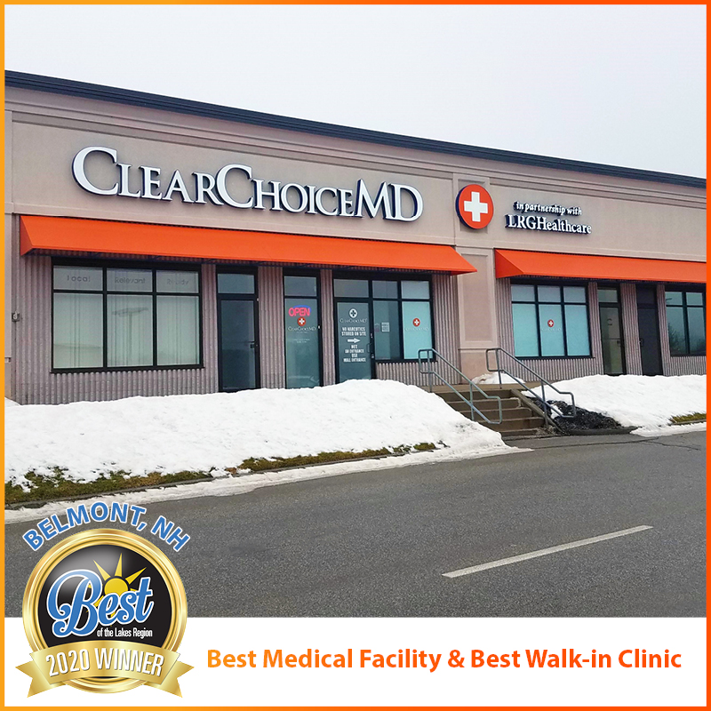 Best Medical Facility & Best Walk-In Clinic in the Lakes Region